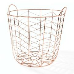 Kmart Copper wire basket $12
