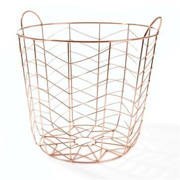 Kmart Copper wire basket $12
