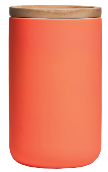 Coral Kitchen Canister