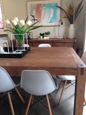 Silverwood Table with Zola Chairs